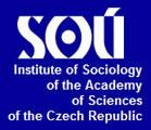 INSTITUTE OF SOCIOLOGY OF THE ACADEMY OF SCIENCES OF THE CZECH REPUBLIC PUBLIC RESEARCH INSTITUTION